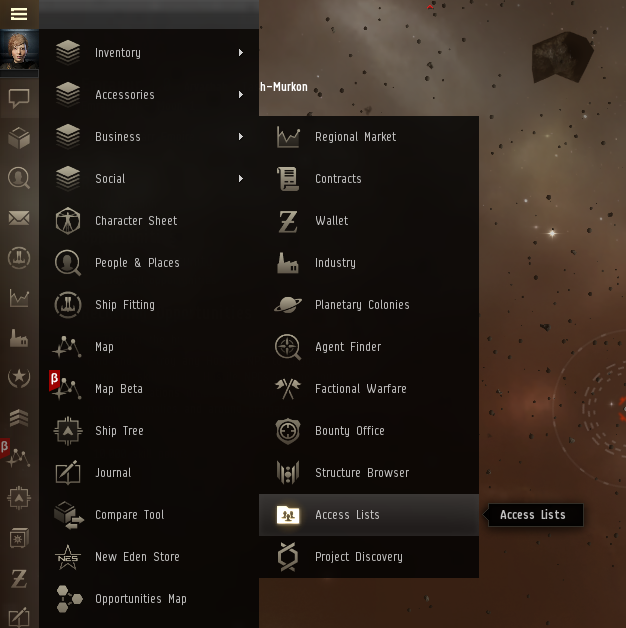 Access Lists – EVE Online